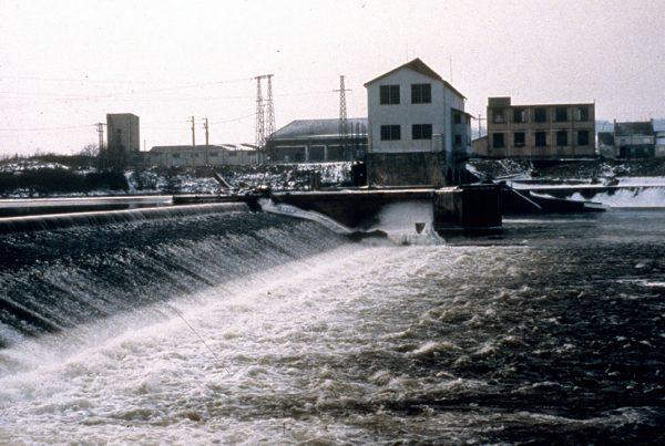 Maisons-Rouges dam, France