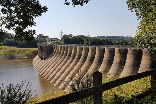 Vezins Dam, Normandy, France
