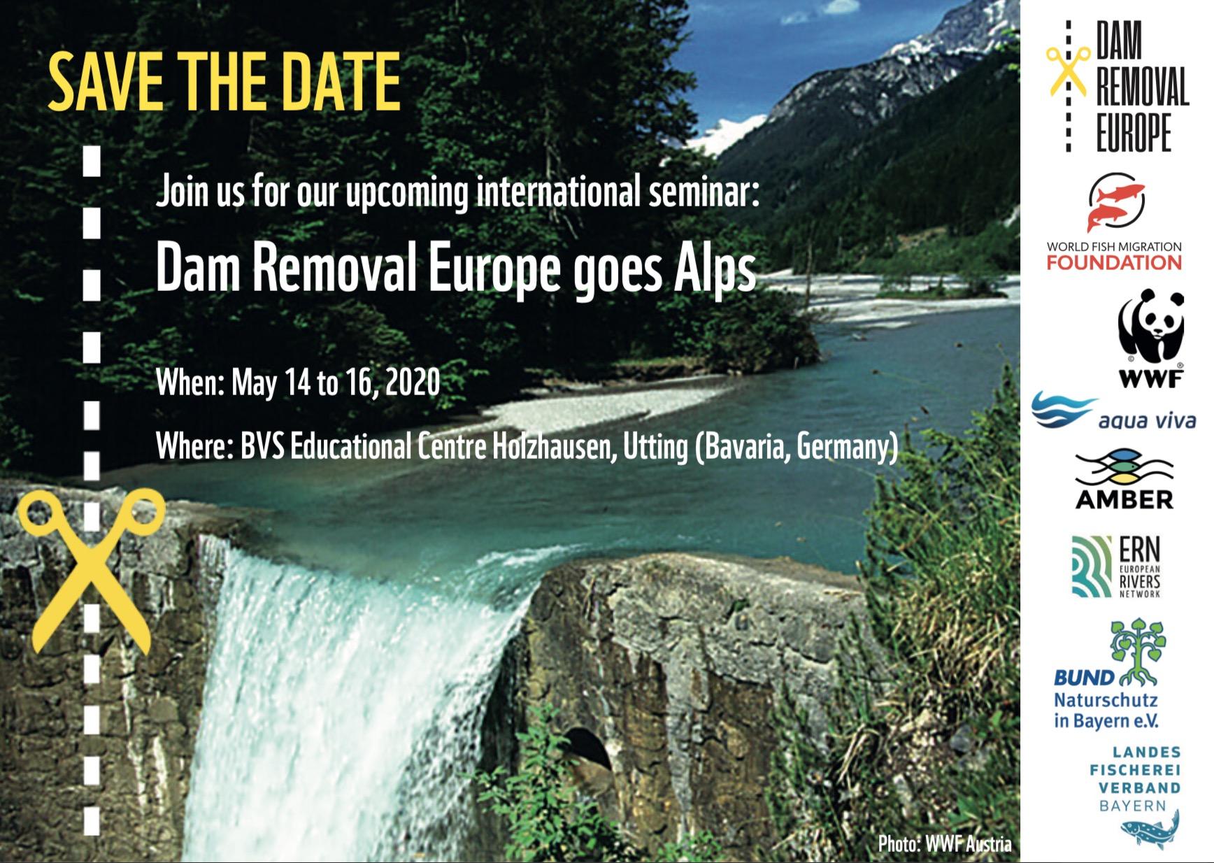 Dam Removal goes Alps – Seminar