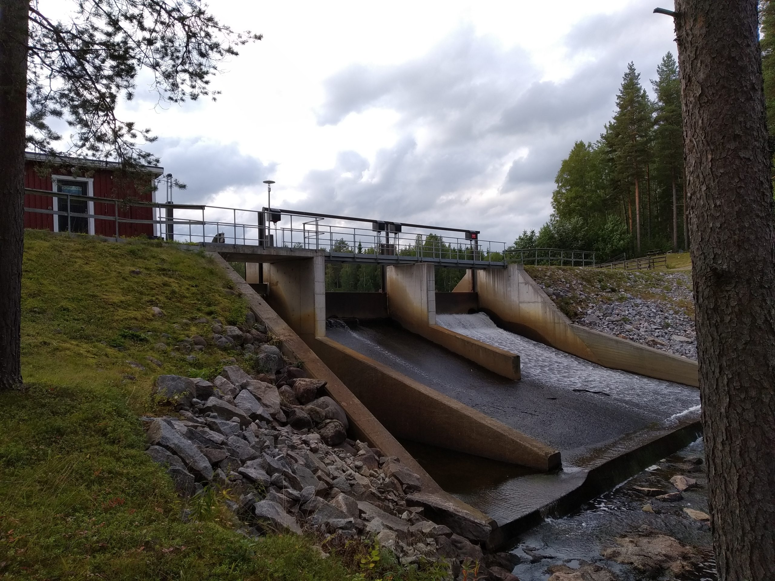 Dam Removal on the Lillpite River, Sweden
