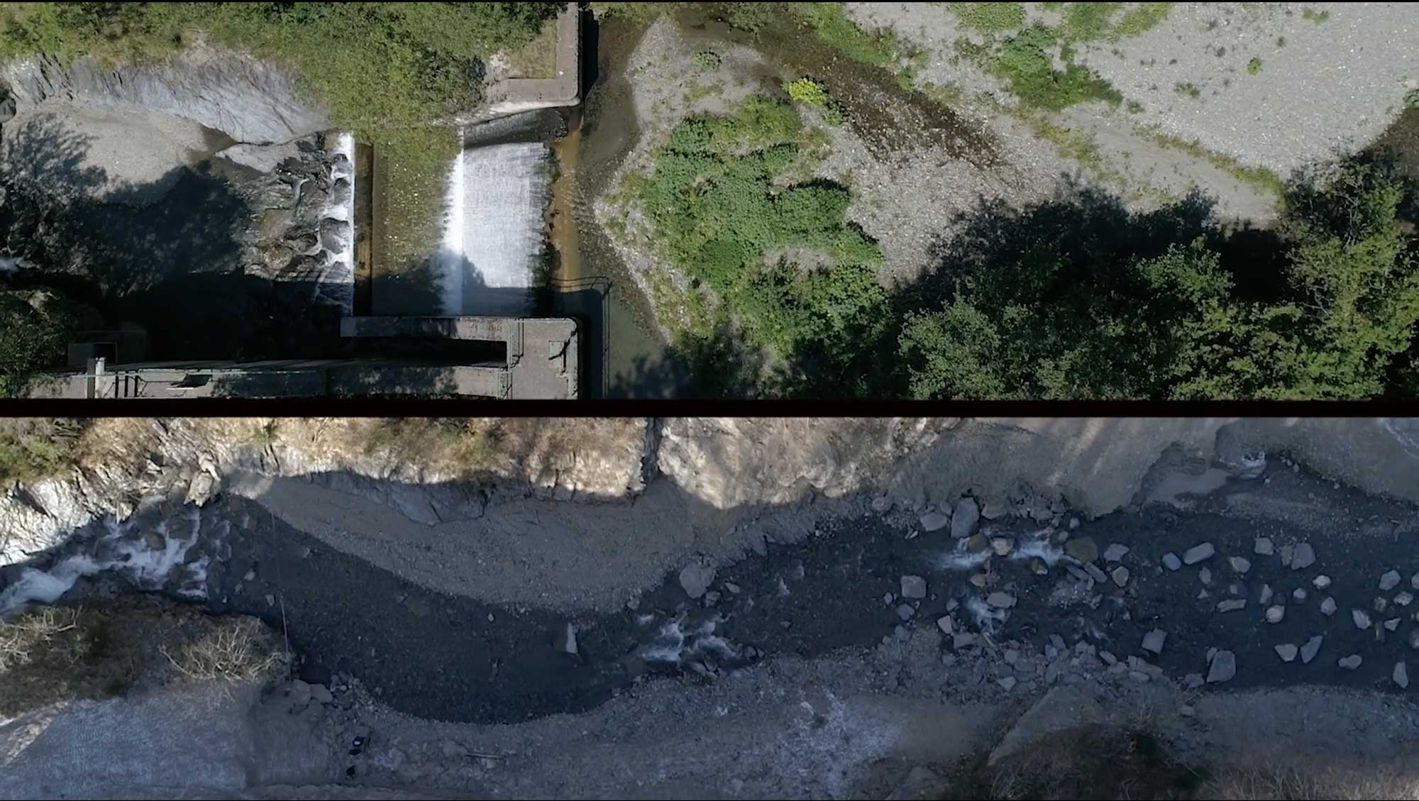 Molló Dam Removal in Catalonia, Spain