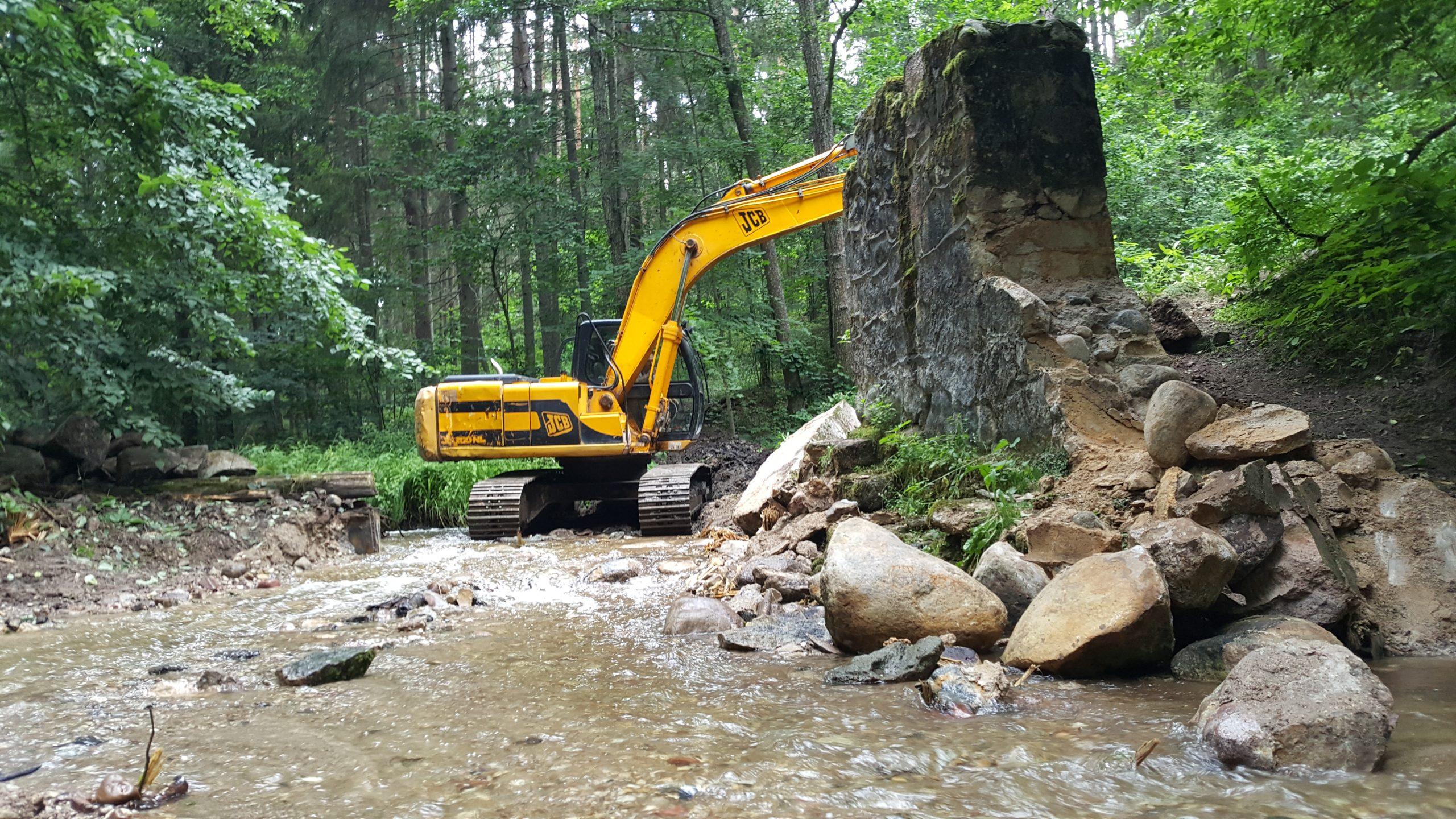 Dam Removal progress in 2020